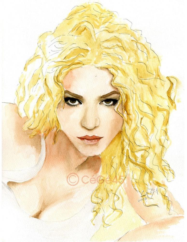 Shakira by CeGe